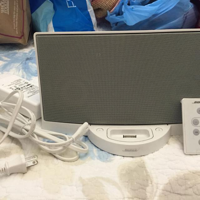 Bose Sound System (*stopped working w my iPod, so if you like to