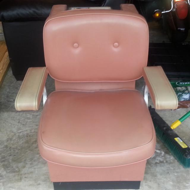 best vintage salon chair with portable hair dryer for sale in
