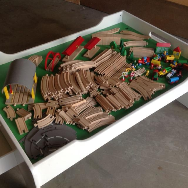 Find more Huge Brio Train Set And Table for sale at up to 90% off