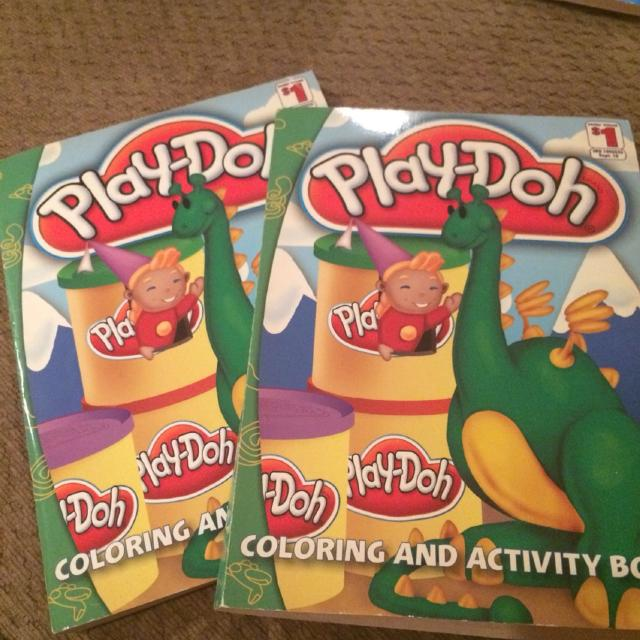 Best 2 Identical Play Doh Activity And Coloring Book For Sale In Mandeville Louisiana 2019