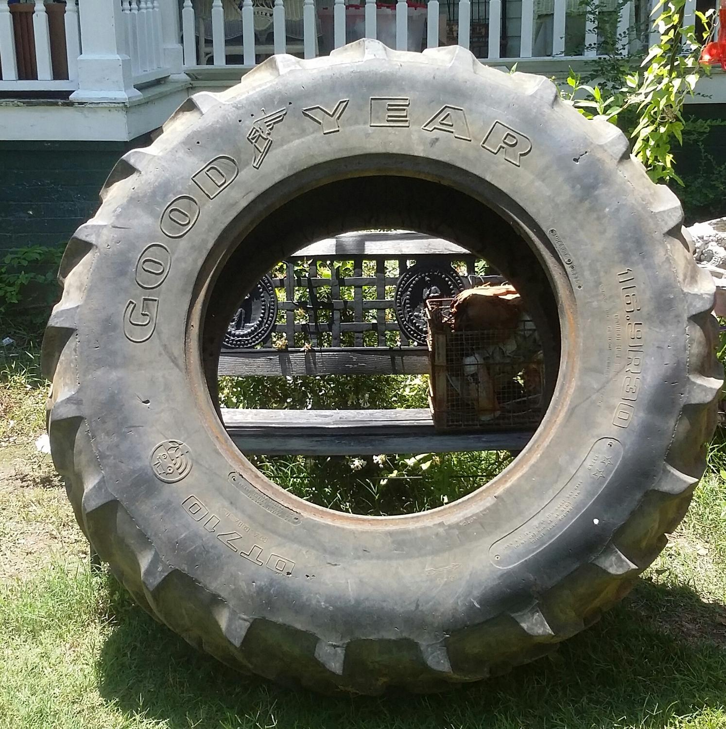 Used Tractor Tires For Sale >> Tractor Tire Used For Crossfit