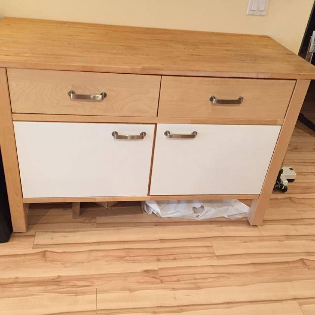 Find More Ikea Varde Free Standing Kitchen Cabinets 3 Pieces For