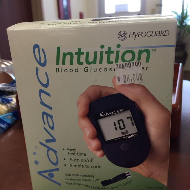 Find more Advance Intuition Blood Glucose Meter for sale at up to 90