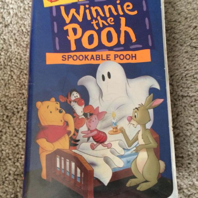 Best Winnie The Pooh Spookable Pooh Vhs For Sale In Morton
