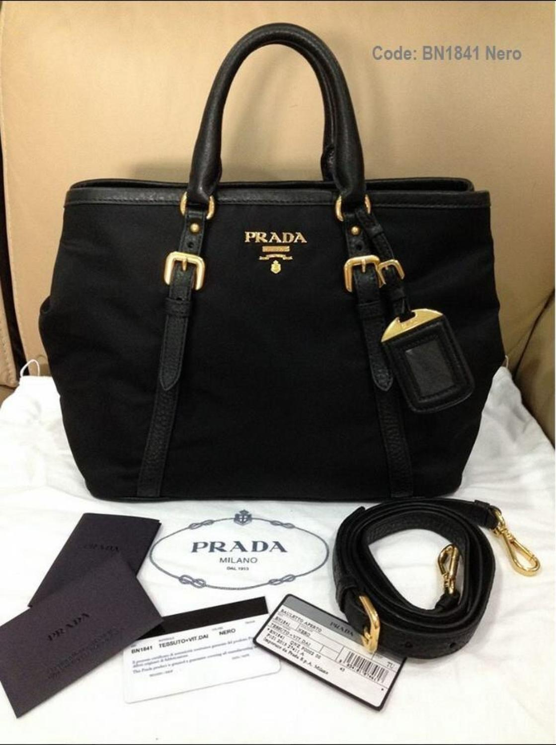 200f81a41477 Find more Never Used And Authentic Prada Bn1841 For Sale.complete With Dust  Bag And Authenticity Cards.must Go @400$ Firm. for sale at up to 90% off