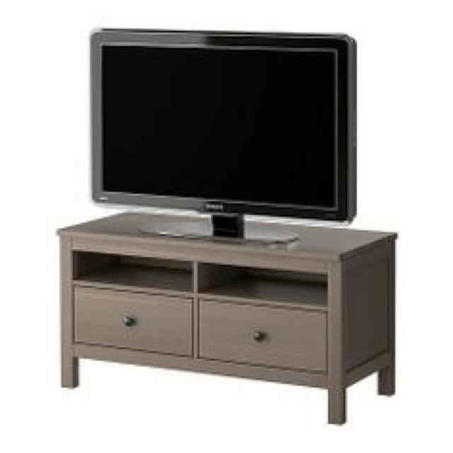 Ikea Hemnes 2 Drawer Tv Stand In Grey Brown
