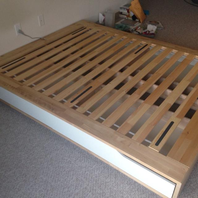 ikea mandal queen bed frame - Ikea Queen Bed Frames