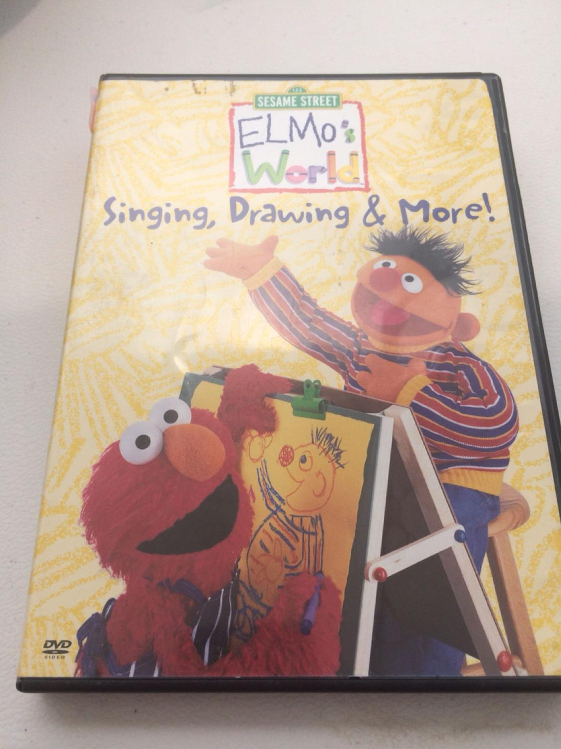 Elmo S World Singing Drawing And More Dvd