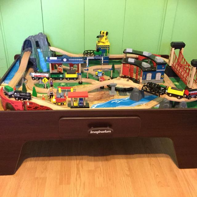 Find more Imaginarium 100 + Piece Mountain Rock Train Table ...