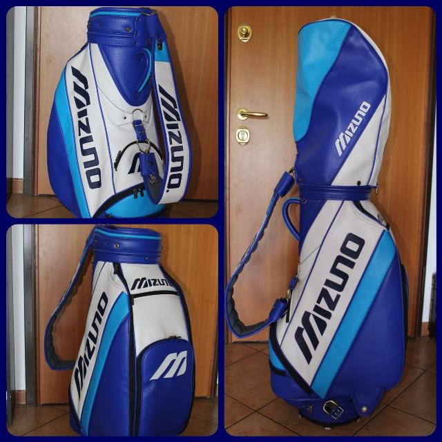 New Leather Mizuno Golf Bag Staff