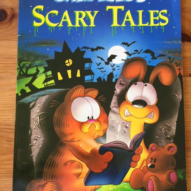 Find More Garfield Scary Tales For Sale At Up To 90 Off