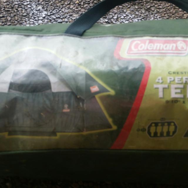 Coleman Crestline 4 person Tent