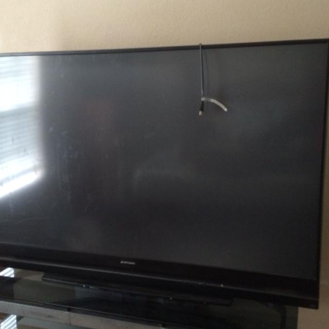 affordable the home tvs tv of inches jumbo puts today only that sticks an inch mitsubishi out dlp for three lines new sized announced relatively cinema one but wd