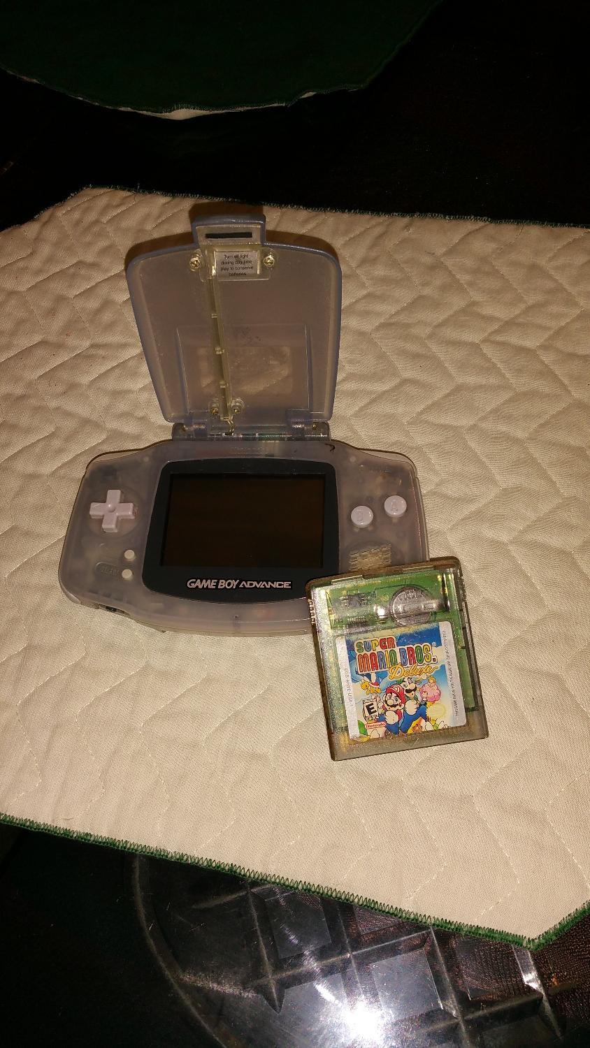 Game boy color super mario bros deluxe - Best Gameboy Advance With Super Mario Bros Deluxe Game Works It Just Needs A Battery Cover For Sale In Brazoria County Texas For 2017