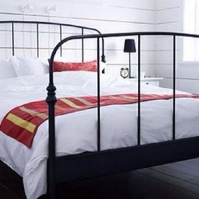 lillesand ikea queen bed frame