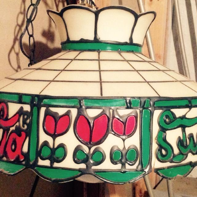 Vintage Coca Cola Hanging Table Light For Pool Or Any Other Kind Of
