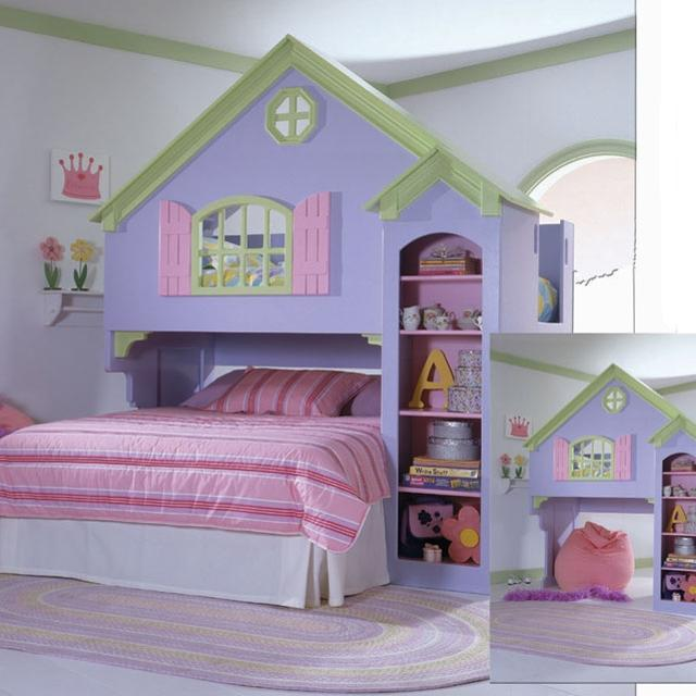 Doll House Bunk Bed From Furniture Row