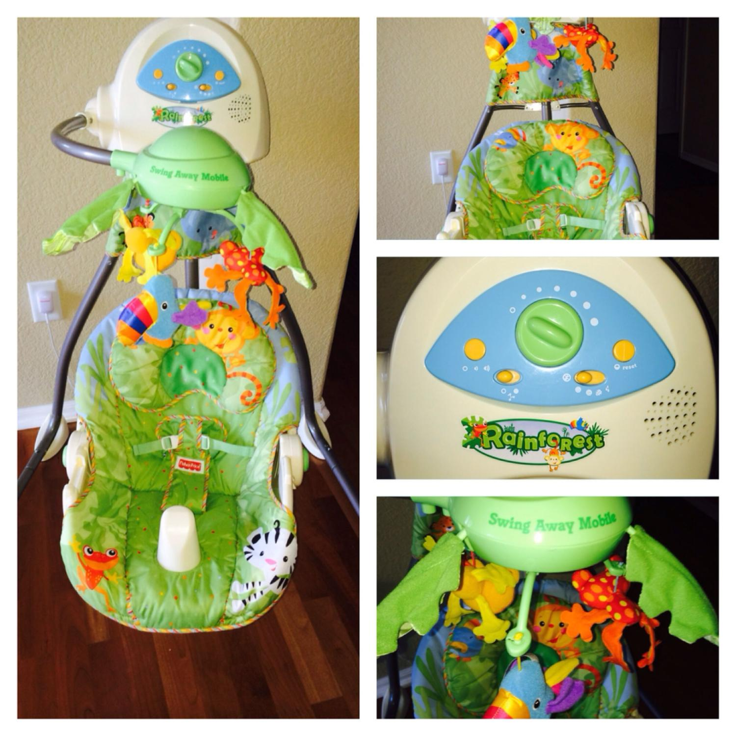 Fisher Price Rainforest Swing Away Mobile