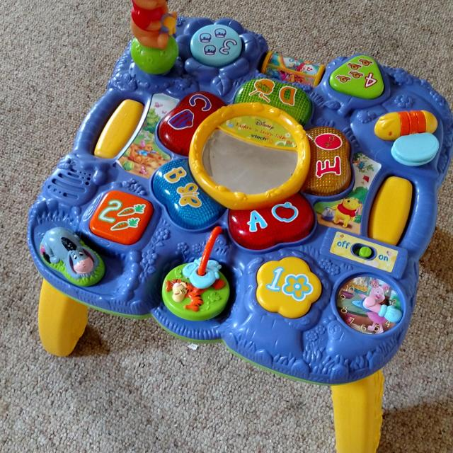 21ccb40c096e Best Winnie The Pooh Toddler Activity Table. for sale in Marion ...