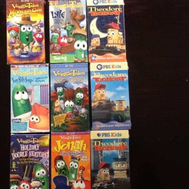 Find More Veggietales And Theodore Tugboat Videos For Sale At Up To