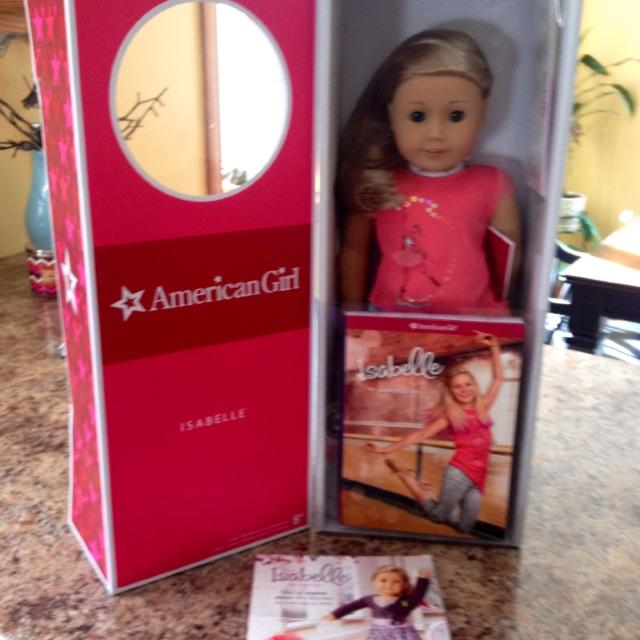 Find More Oob American Girl Doll Isabella Retired Brand New In