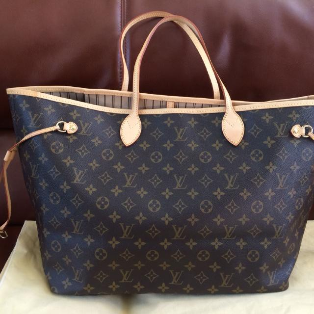 33967ba95b14 Find more Authentic Louis Vuitton Neverfull Gm Monogram for sale at ...