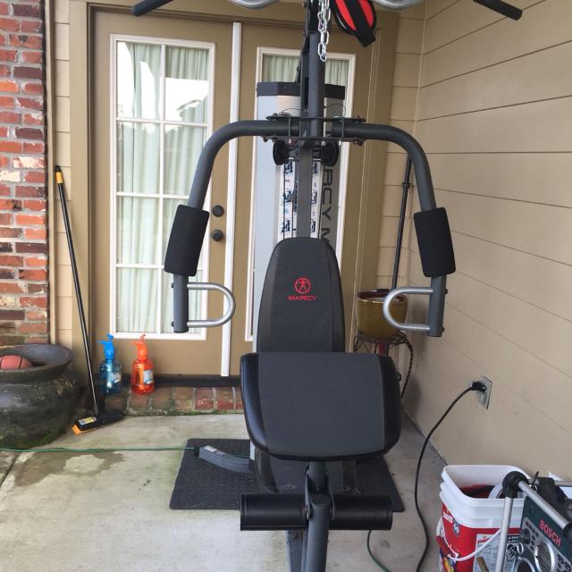 Marcy MWM-988 150 lb cable weight set