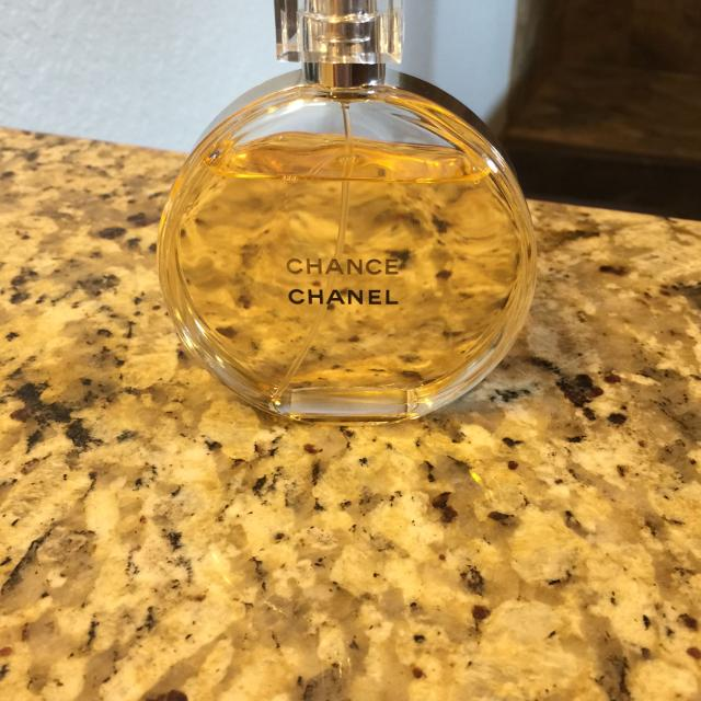 Find More Chanel Chance 34 Oz Perfume Practically A Full Bottle