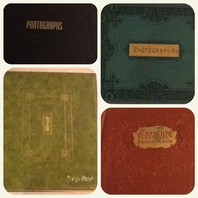 Best Vintage Photo Albums Scrapbook With Black Pages Four For