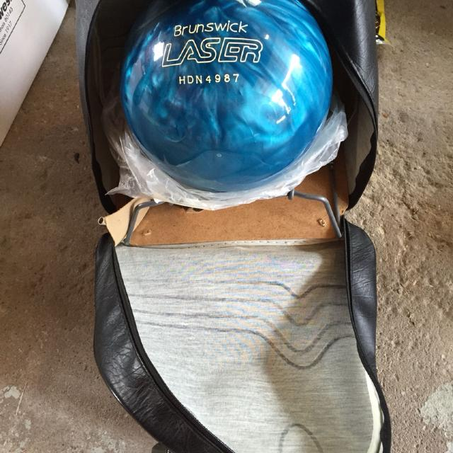New Brunswick Bowling >> Reduced Brand New Brunswick Laser 16lb Bowling Ball With New Case