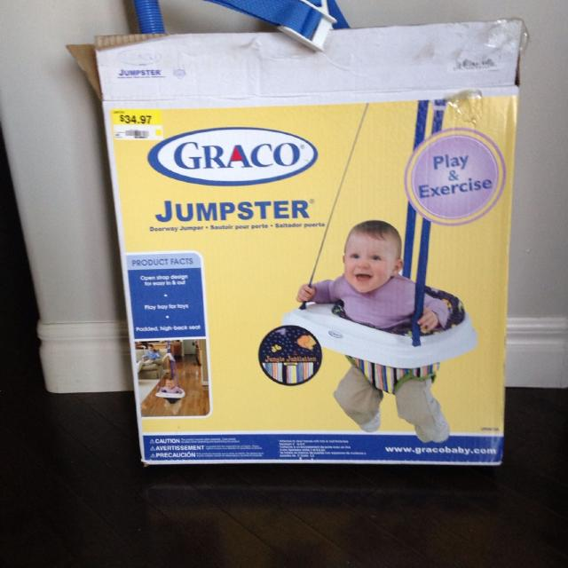 e09a70836e84 Find more Graco Jumpster Doorway Jumper for sale at up to 90% off