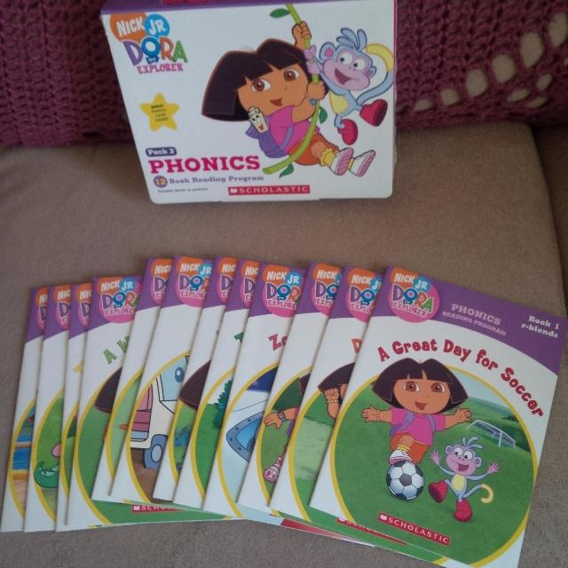 find more dora the explorer phonics books for sale at up to 90 off