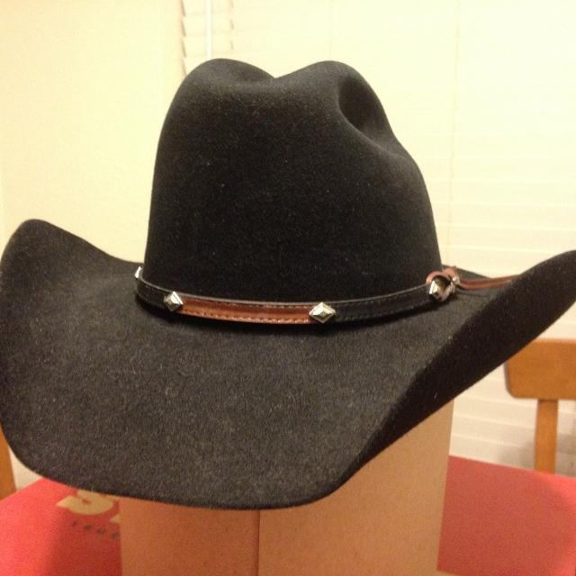 Find more Stetson Grant 4x Cowboy Hat - Black     reduced To Sell ... 1b5183a55c09