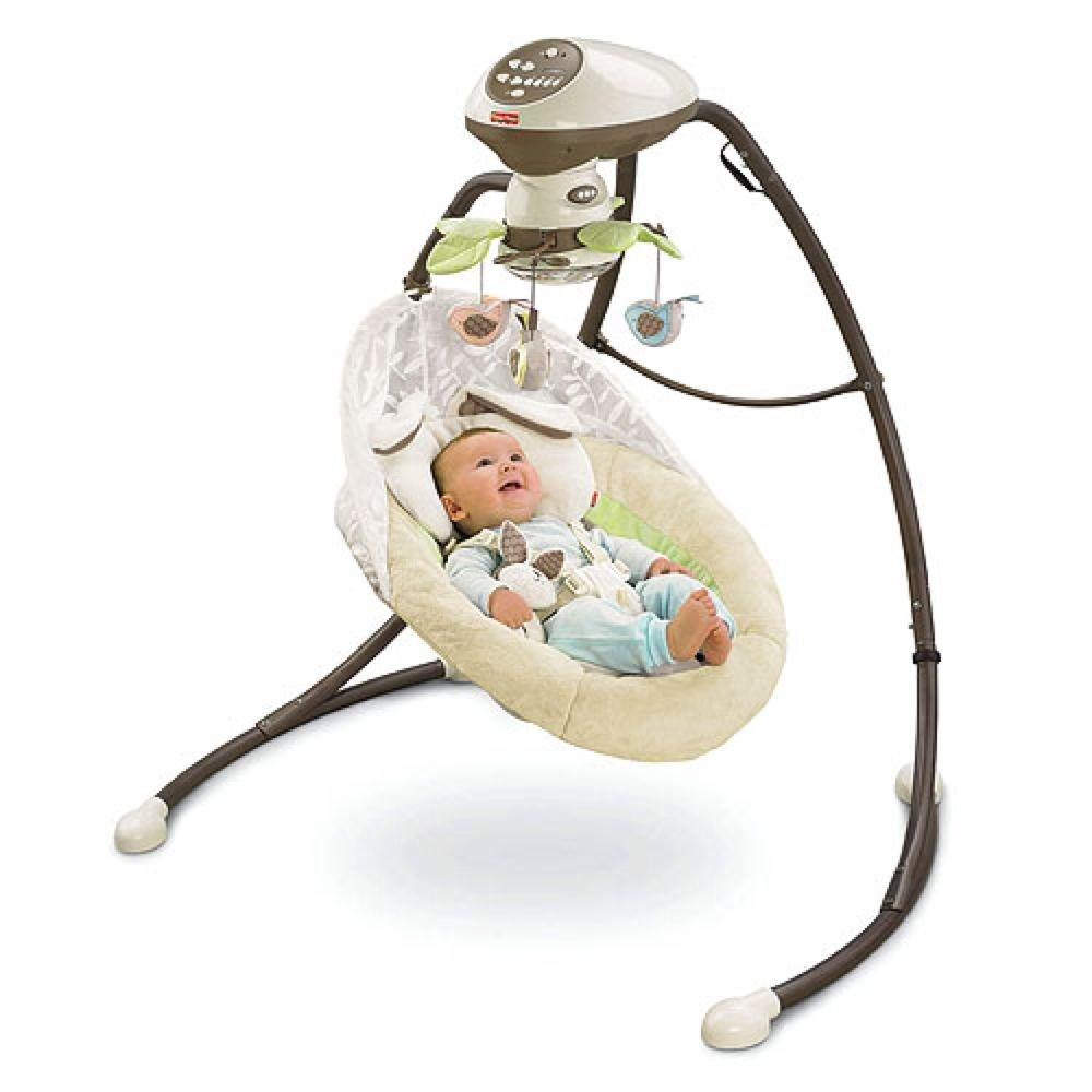 Find more My Little Snugabunny™ Cradle 'n Swing - Fisher-price In Excellent  Condition And Has Instruction Manual. for sale at up to 90% off