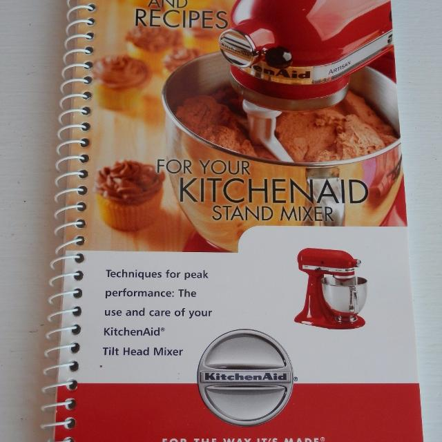 Find More Kitchenaid Stand Mixer Instructions And Recipes Ingles
