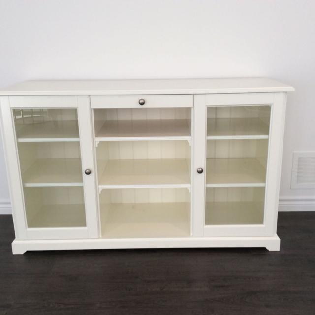 find more ikea liatorp sideboard white for sale at up to 90 off oshawa on. Black Bedroom Furniture Sets. Home Design Ideas