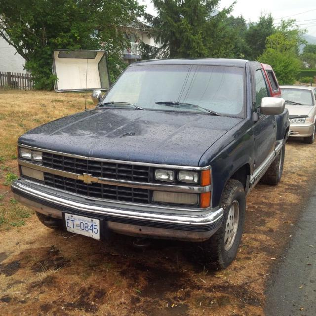 1988 Chevy Z71 Stepside 4x4 V8 To Many Vehicles Making Hubby Sell One Runs Great Asking 1500 Obo Comes With Canopy