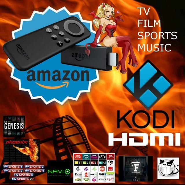 AMAZON FIRE TV STICK  JAILBROKEN!!
