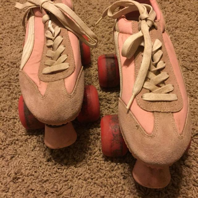 Best Old School Style Puma Roller Kitty Skates Size 7. Worn A Few Times And  Are Dirty. Never Attempted To Clean Them. for sale in Mobile ed5cd9cfc