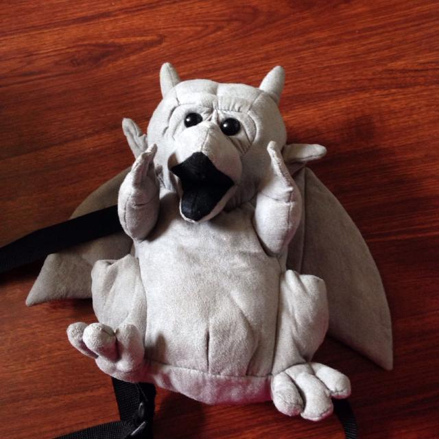 Find more Gargoyle Backpack. It Doesn't Hold A Lot But It's Cute ...