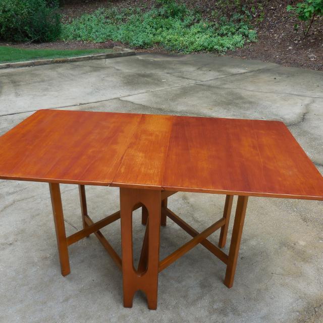 Find More Teak Mid Century Modern G Planstyle Gate Leg Table For - Mid century modern gateleg table