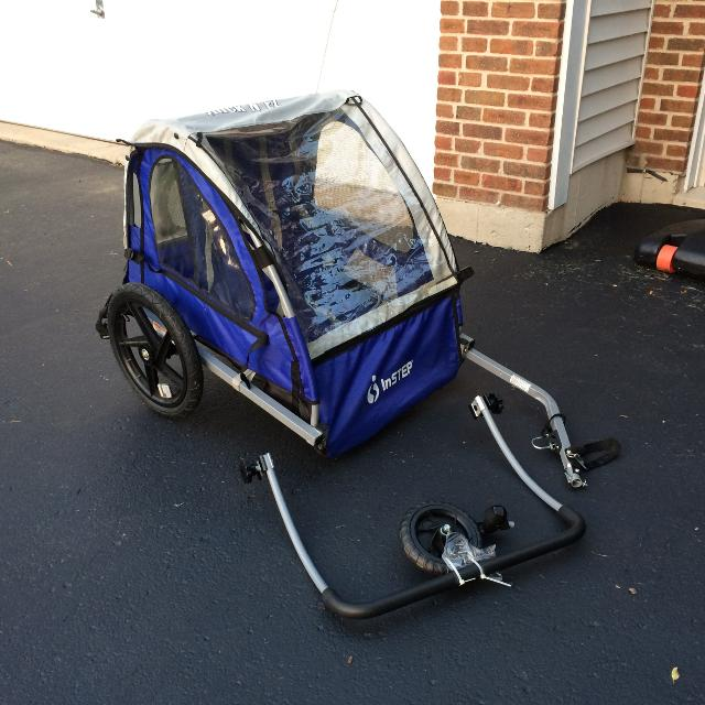 Find More Instep Bike Trailer With Stroller Kit Bar And Third
