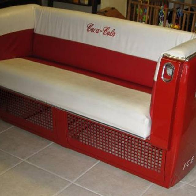 Find more antique coca cola cooler couch for sale at for Coole couch