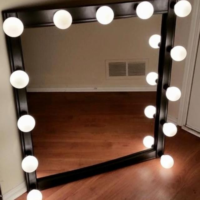 Best Huge Lighted Hollywood Vanity Mirror For Sale In Frisco