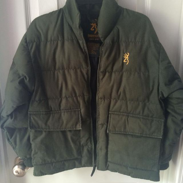Best Browning Goose Down Jacket Size Youth Small for sale in ...