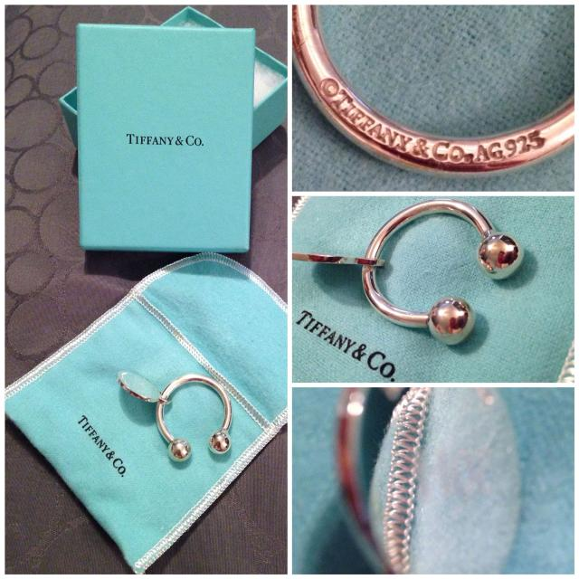 c206dddbd Best Tiffany & Co. Round Tag Key Ring -brand New- Retails For $135. for  sale in Ashburn, Virginia for 2019