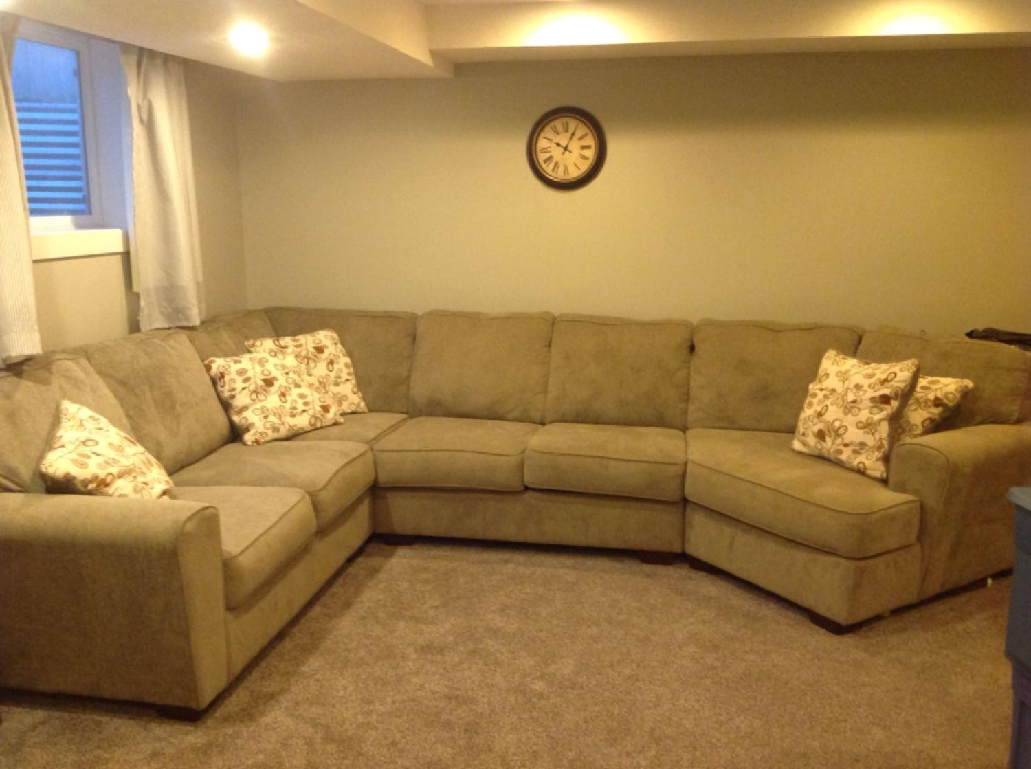 Best Patola Park 4 Piece Modular Sectional For Sale In Calgary