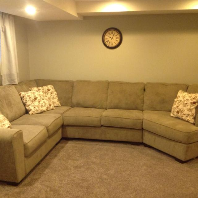 Best Patola Park 4 Piece Modular Sectional For Sale In