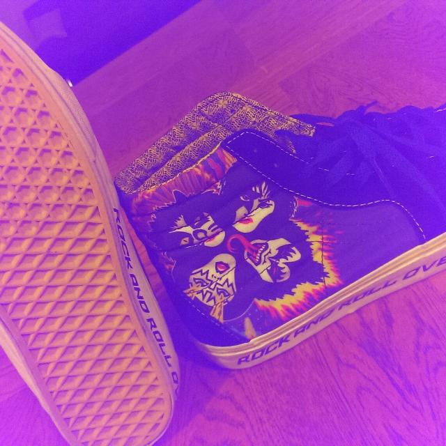 f7570cea31 Best Vans Kiss Rock Off The Wall Sneakers for sale in Woodbury ...