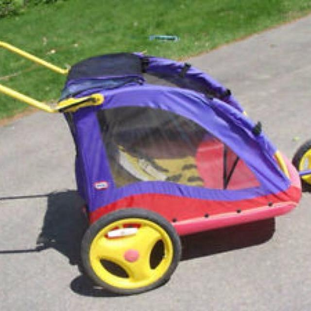 Find more little tikes bike trailer and stroller for sale at up to.